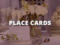 Place Cards-