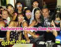 DJ Chef-DJ Chef's Bachelorette Cooking Class Parties