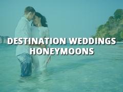 Destination Weddings - Honeymoons-