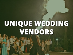 Unique Wedding Vendors-