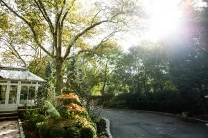 Westbury Manor in Autumn