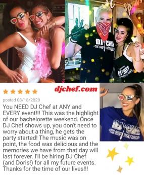 DJ Chef's Bachelorette Cooking Class Parties