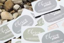 Chosen Pebble by Adelie - Wedding Invitations Long Island