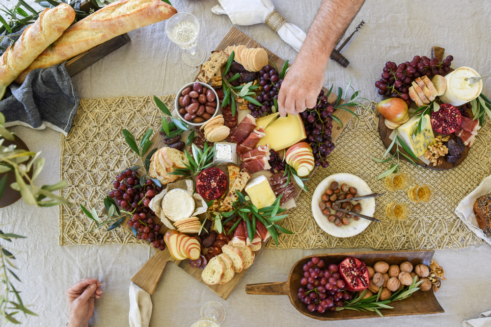 Posh Petite Treats:  Grazing Table Are All the Rage