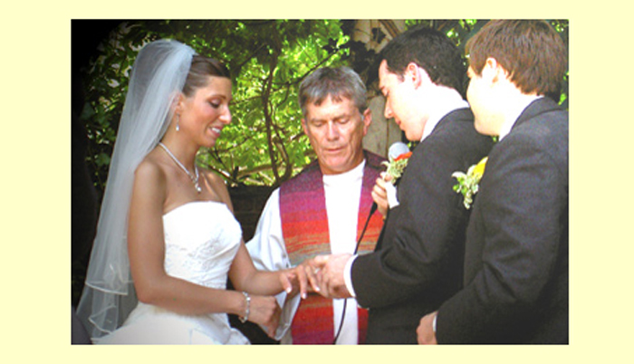 Rev thomas g mccormick officiants long island ny for Wedding officiant long island