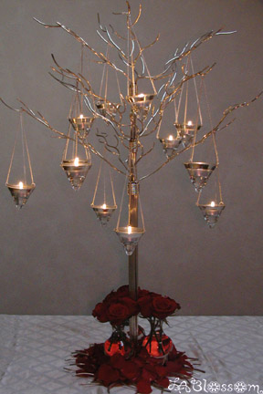 Re Candle Tree Centerpieces Im not sure exactly what your looking for