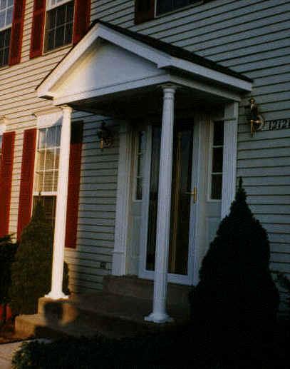 Exterior Door Overhang Plans
