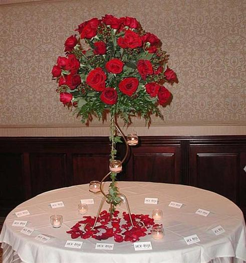Re Past Future Fall bridesplease post pics of your centerpieces