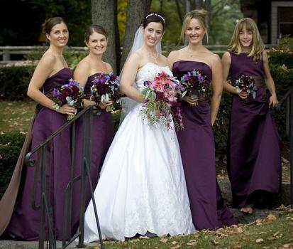 Bridesmaid Dresses For A Fall Wedding deb