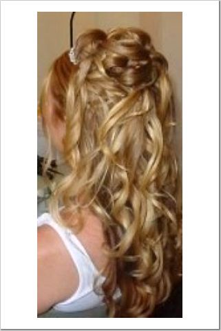 Re: Please post pics of half up hairstyles. Image Attachment(s):