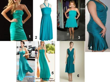 Now that I am having the dresses custom made I can pick the color I actually