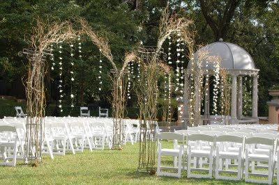 Pictures Wedding Arches on Willow Branch Wedding Arch