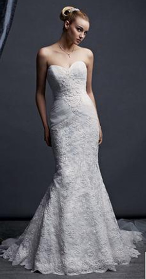 Re: Davids Bridal Wedding Dresses! Here is mine Image Attachment(s):