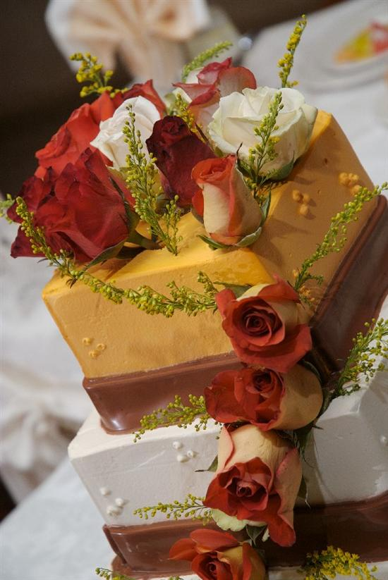 elegant autumn wedding cakes