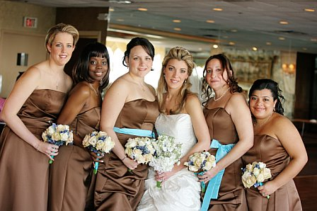 Tiffany Blue Brown Wedding Weddings Wedding Forums WeddingWire