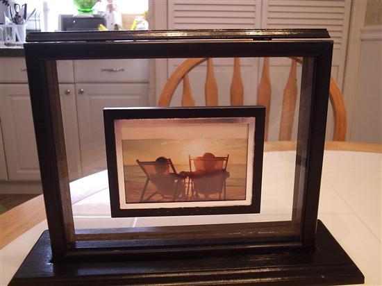 Brides Helping Brides ™ - sand ceremony picture frame box | LIWeddings