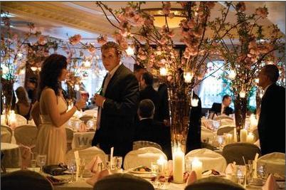 Brides Helping Brides ™ - Cherry Blossom Centerpieces | LIWeddings