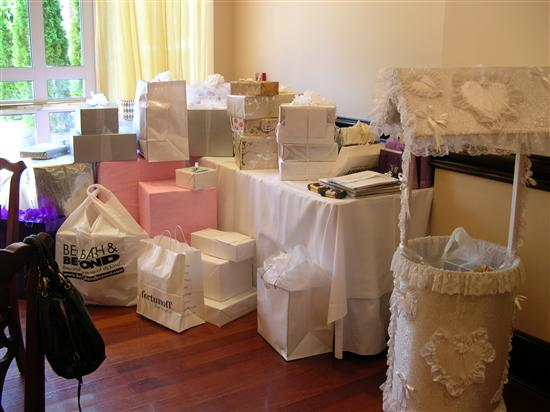 brides helping on a sunny beatiful day it poured in wishing well bridal shower poem image cabinetandra