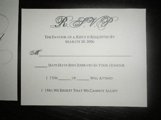 Brides helping brides rsvp card wording help liweddings