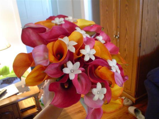 Pink Orange Wedding Theme