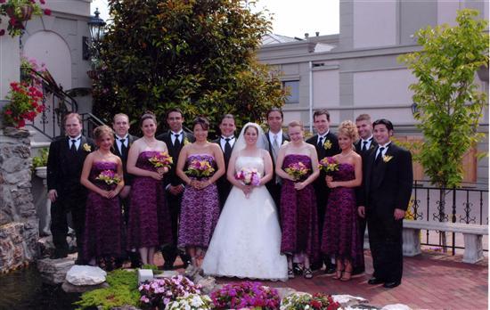 Uneven Wedding Party