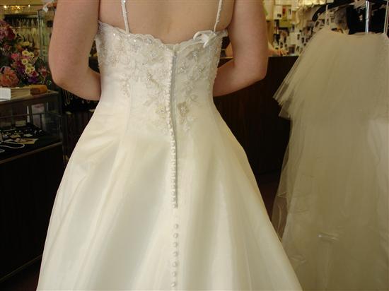 corset dress back. Original ack of dress: Corset