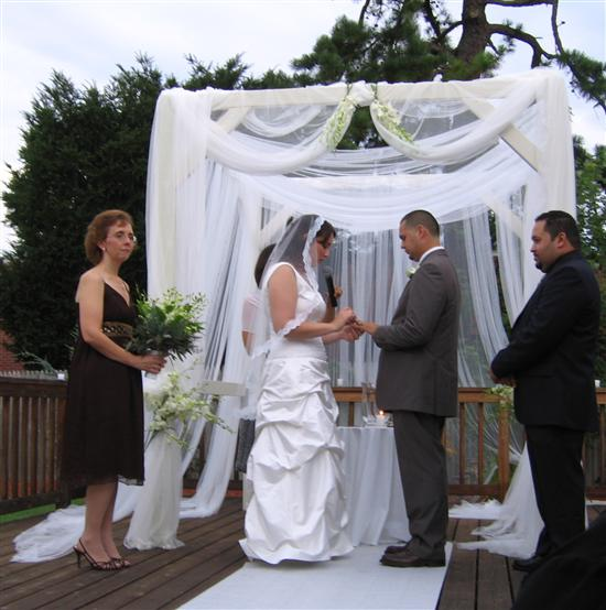 Re Bridal Arch Decoration here 39s ours itslaurie