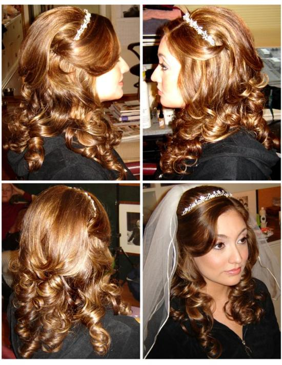 Pleasant Cute Curly Hairstyles Down Hairstyles For Long Hair Short Hairstyles Gunalazisus