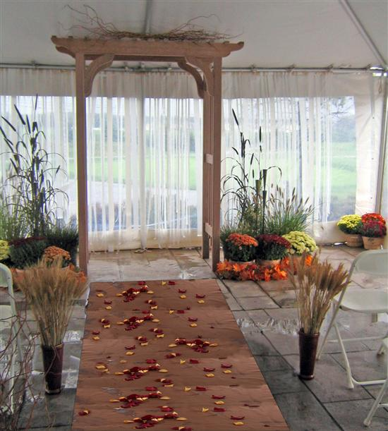 wedding arch decorations photos