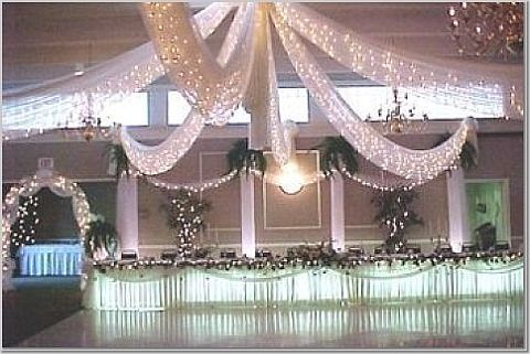 Wedding Tulle and Lights Installation _Other dresses_dressesss