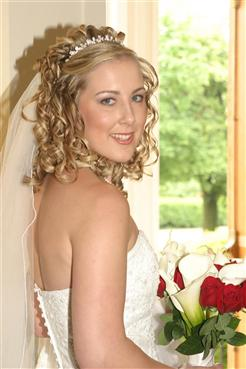 Brides Helping Brides Wearing Your Hair Half Up Where Did You