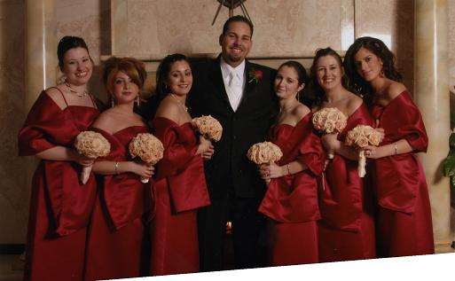 Re Anyone Have Pics Of Cherry Red Bridesmaid Dresses