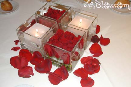 Brides Helping Brides Please post nonfloral centerpieces