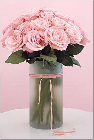 Re All Baby Pink Rose Centerpiece Pic