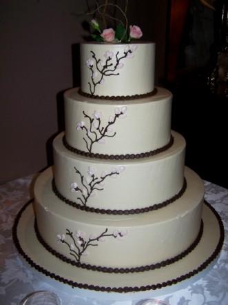 Brides Helping Brides ™ - Non-fondant wedding cakes | LIWeddings
