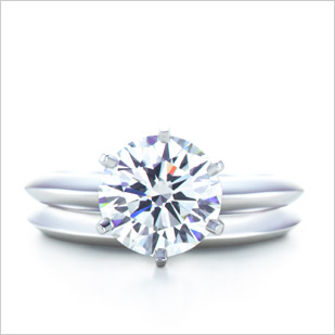 Re What Style Wedding Band Works With A Solitaire Tiffany Setting