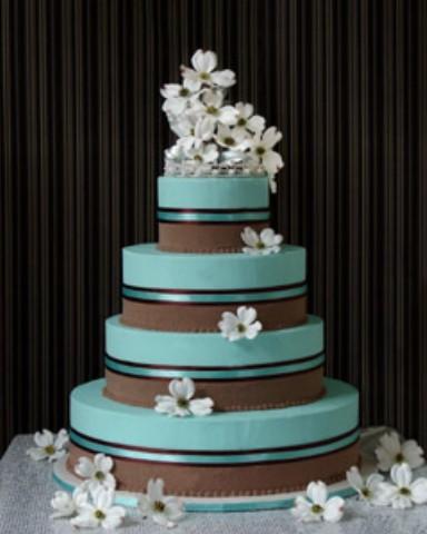 Brides Helping Brides ™ - tiffany blue, gold, ivory ideas | LIWeddings