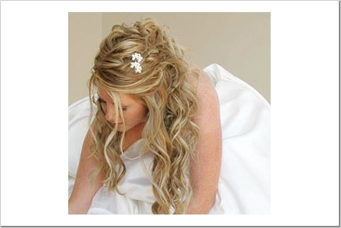 Phenomenal Brides Helping Brides Up Do Half Way Up Hair Styles Liweddings Short Hairstyles For Black Women Fulllsitofus
