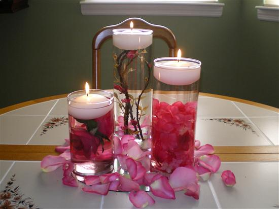 re diy wedding floating candle centerpieces