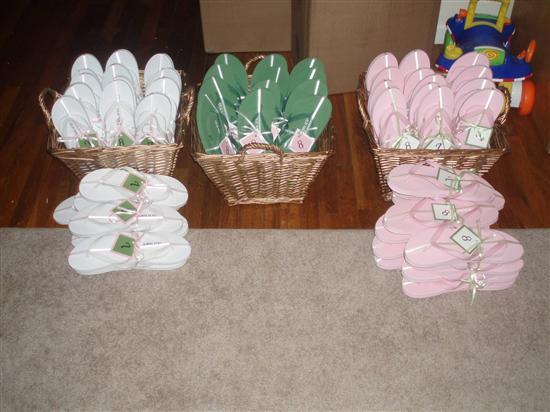 13e0e57e61a7d Brides Helping Brides ™ - Flip Flop Basket