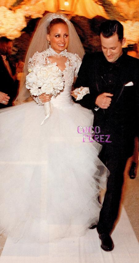 Brides Helping Brides ™ - Nicole Richie\'s Wedding Dress | LIWeddings