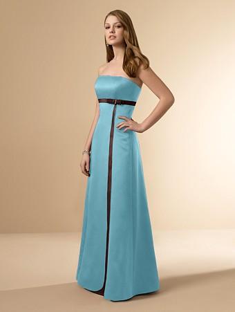 Brown And Blue Bridesmaid Dresses - Ocodea.com