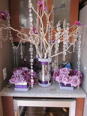 Diy tree branch centerpieces wedding tips and inspiration diy branch wedding centerpieces choice image decoration ideas junglespirit Image collections