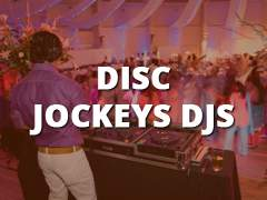 Disc Jockeys - DJs-