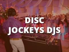 Disc Jockeys - DJs-