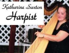 Harpist Katharine Saxton-Harpist Katharine Saxton