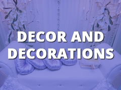 Decor and Decorations-
