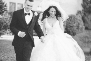 Featured Wedding: Soft Glam