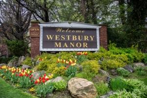 Westbury Manor in Spring