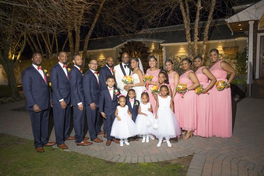 Laronda and Brent - Real Weddings Long Island, NY